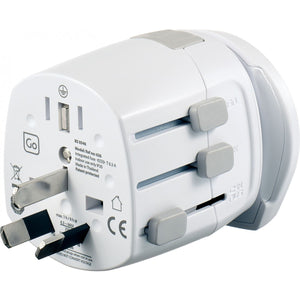 Worldwide Grounded Adaptor