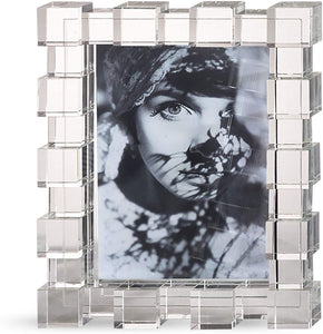 "Crystal Photo Frame 5""X7"""
