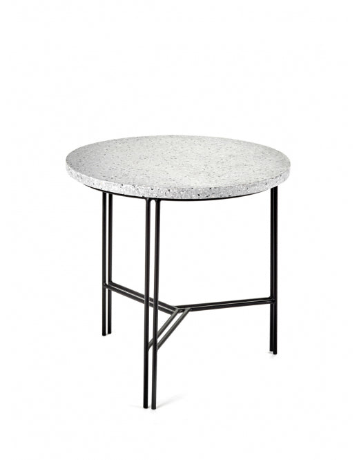 Side Table Black Terrazzo