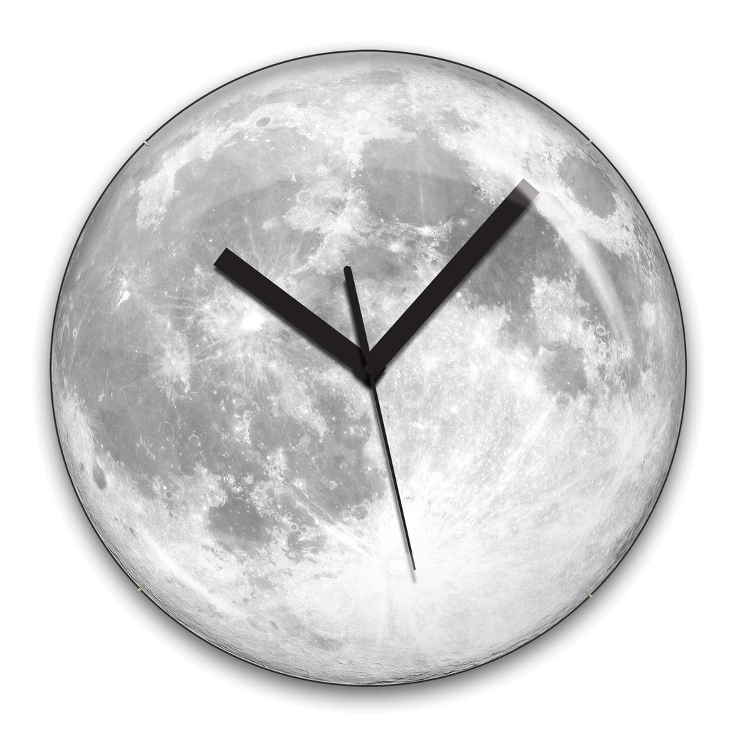 Glow in Dark Moon Clock