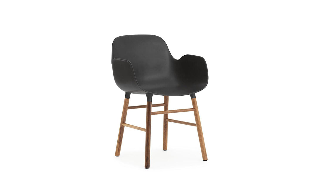 Form Armchair Walnut