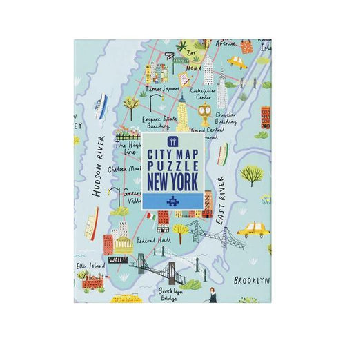 Map Puzzle NY 250pc