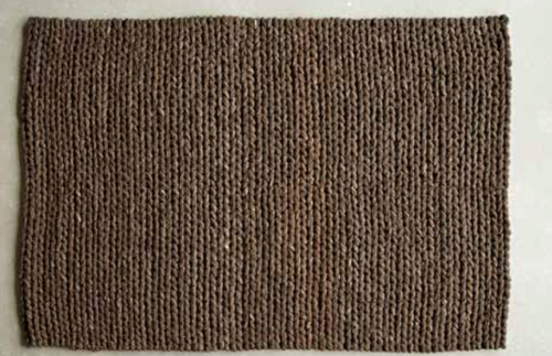 Cable Chain Rug 72
