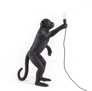 Outdoor Standing Monkey Lamp