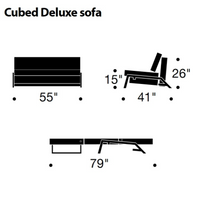 Cubed Deluxe Sofa Bed