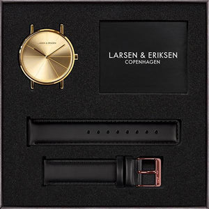 Watch by Larsen & Eriksen - Gold Color