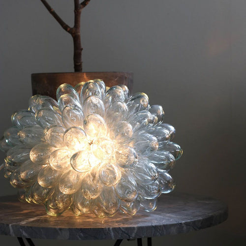 Clear Grape Lamp