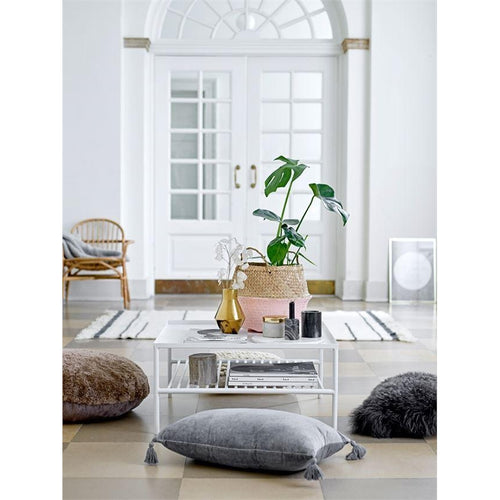Matte White Coffee Table