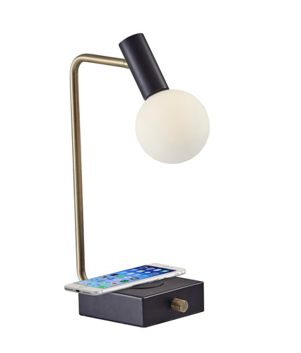 Windsor LED Charge Desk Lamp