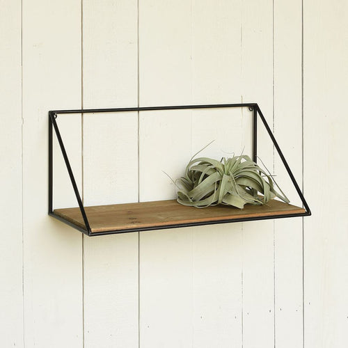 Hull Wood & Iron Shelf