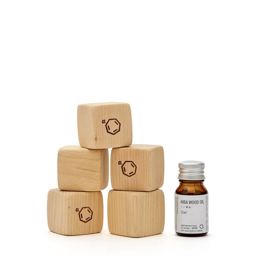Hiba Blocks & Hiba Wood Oil