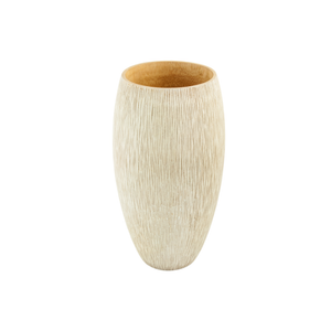 Mango Wood Tall Vase
