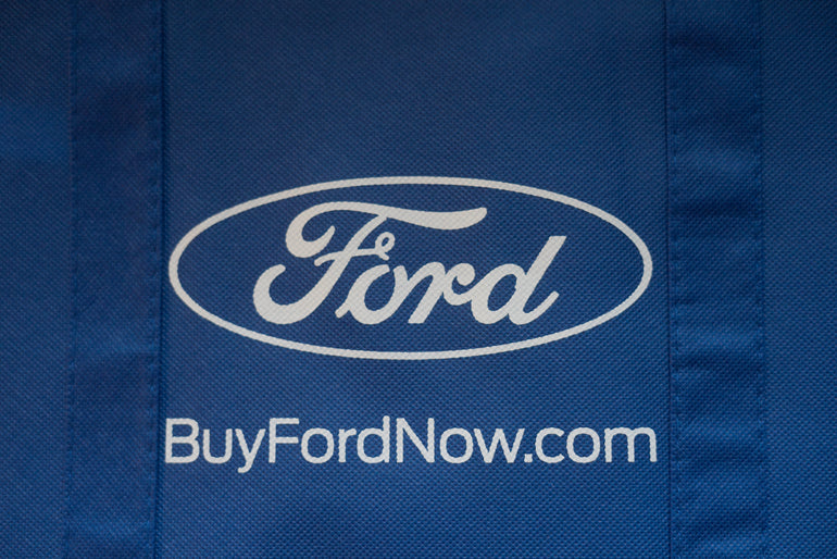 Chicago Auto Show Ford Tote Bag!