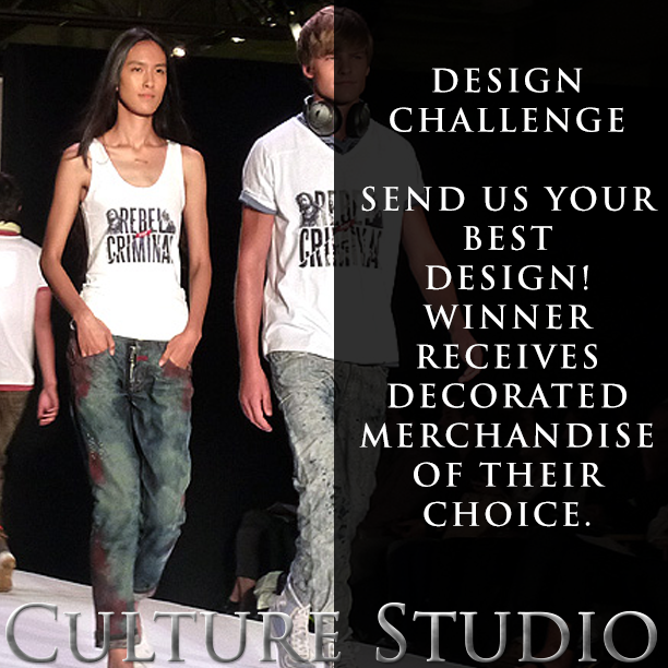 Welcome to the 1st ever Culture Studio design challenge