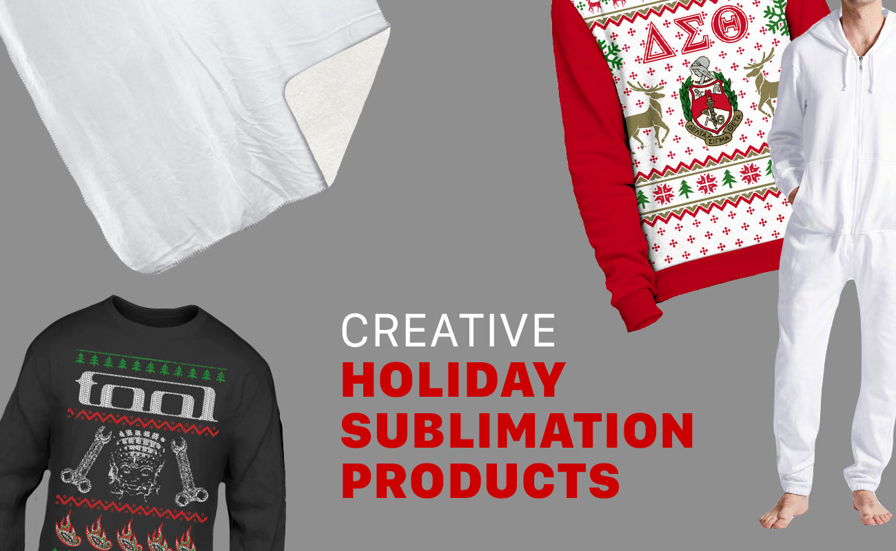 Creative Holiday Sublimation Products