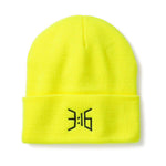 3:16 Collection Accessories - Hats - Beanies 3:16 Beanie, Neon Yellow