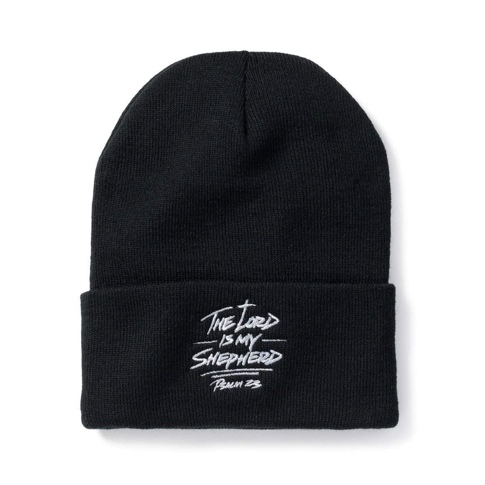 3:16 Collection Accessories - Hats - Beanies Psalm 23 Beanie Black
