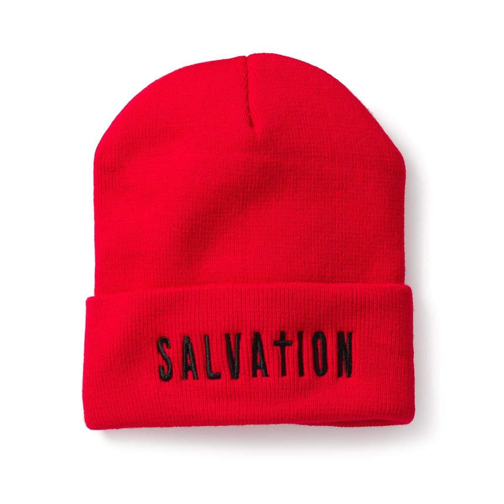 3:16 Collection Accessories - Hats - Beanies Salvation Beanie, Red