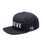 3:16 Collection Accessories - Hats - Snapbacks Believe Snapback Hat - Black