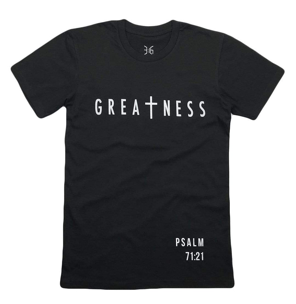 Greatness T-Shirt (Black)
