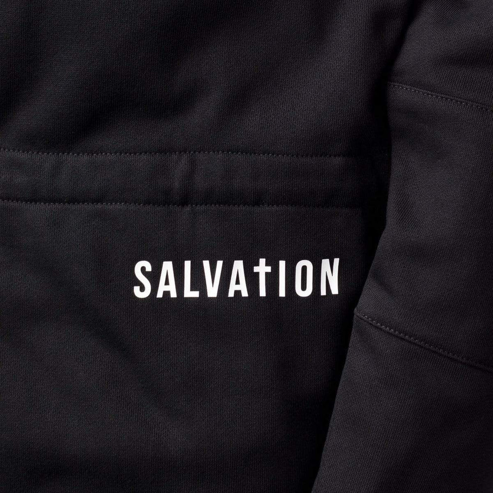 3:16 Collection Apparel John 5:11 Long Parka Hoody, Black