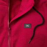 3:16 Collection Apparel John 5:11 Long Parka Hoody, Maroon