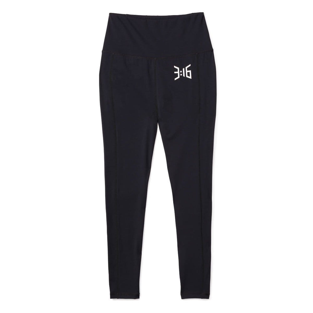 3:16 Believe High Waist Legging, Black