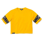 3:16 Cutout Crop Top, Mustard