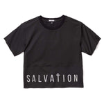 3:16 Collection Apparel - Women's Apparel - Tops - Athleisure Salvation Crop Top, Black