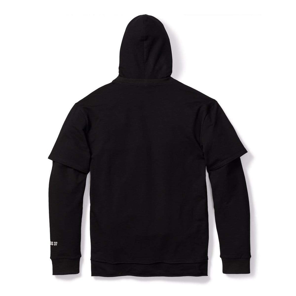 3:16 Collection Hoodie Dreamer Double Layered Hoodie -Black