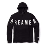 Dreamer Double Layered Hoodie -Black