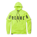 Dreamer Double Layered Hoodie - Neon