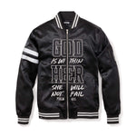 3:16 Collection Jacket XS WITHIN HER - WOMEN'S BOMBER JACKET - BLACK