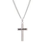 3:16 Believe Cross Necklace