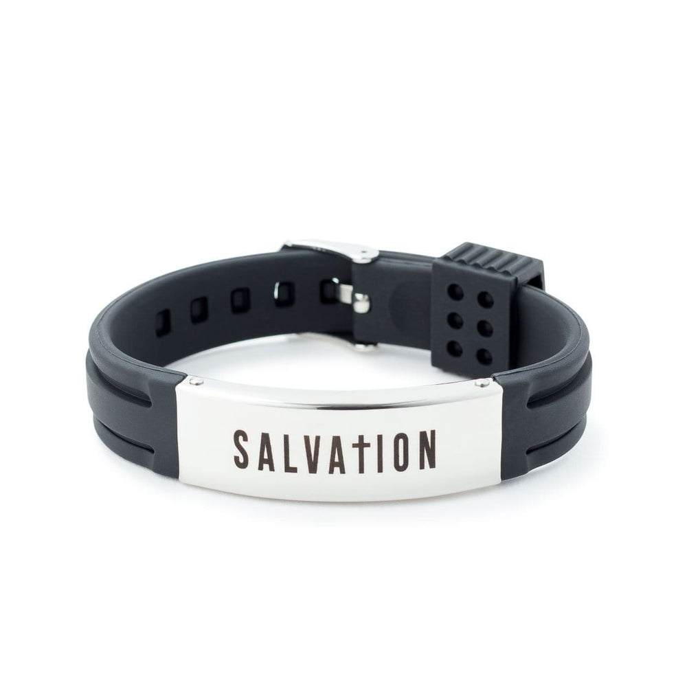 Salvation Rubber Bracelet