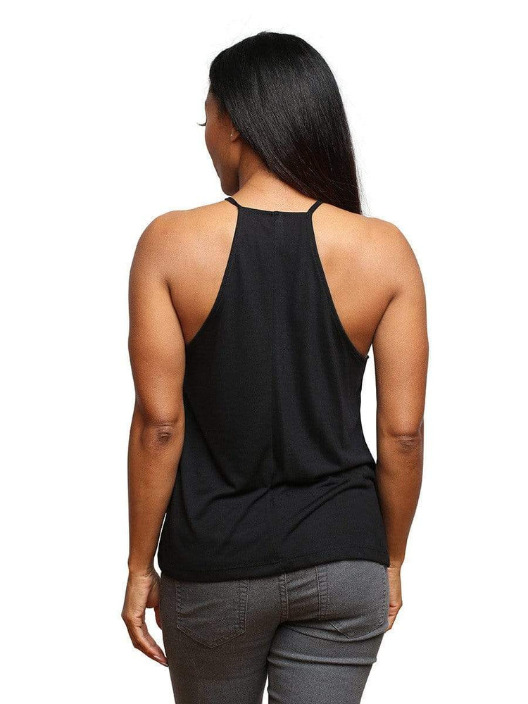 3:16 Collection Ladies Apparel Believe Women's Flowy High Neck Tank