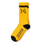 Salvation Casual Crew Sock - Gold