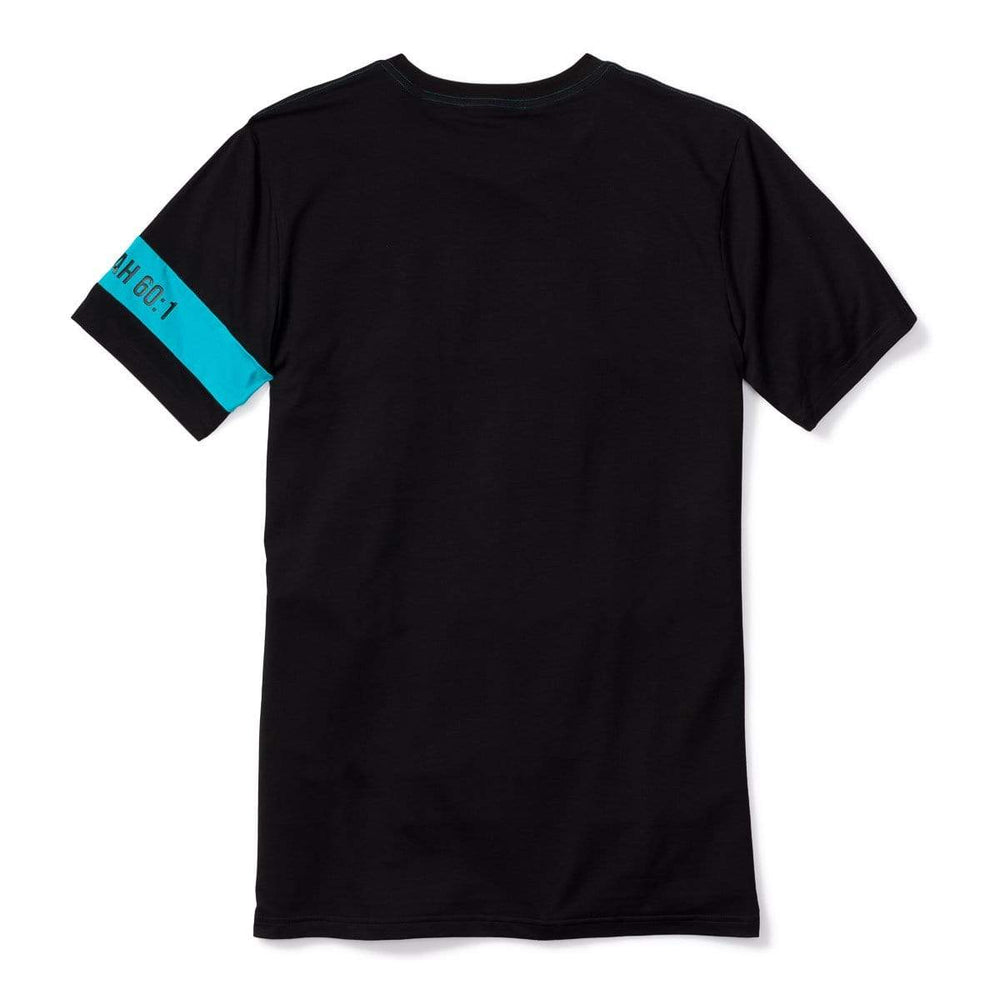 3:16 Collection T-Shirt Isaiah 60:1 Colorblock T-Shirt Black/Turquoise