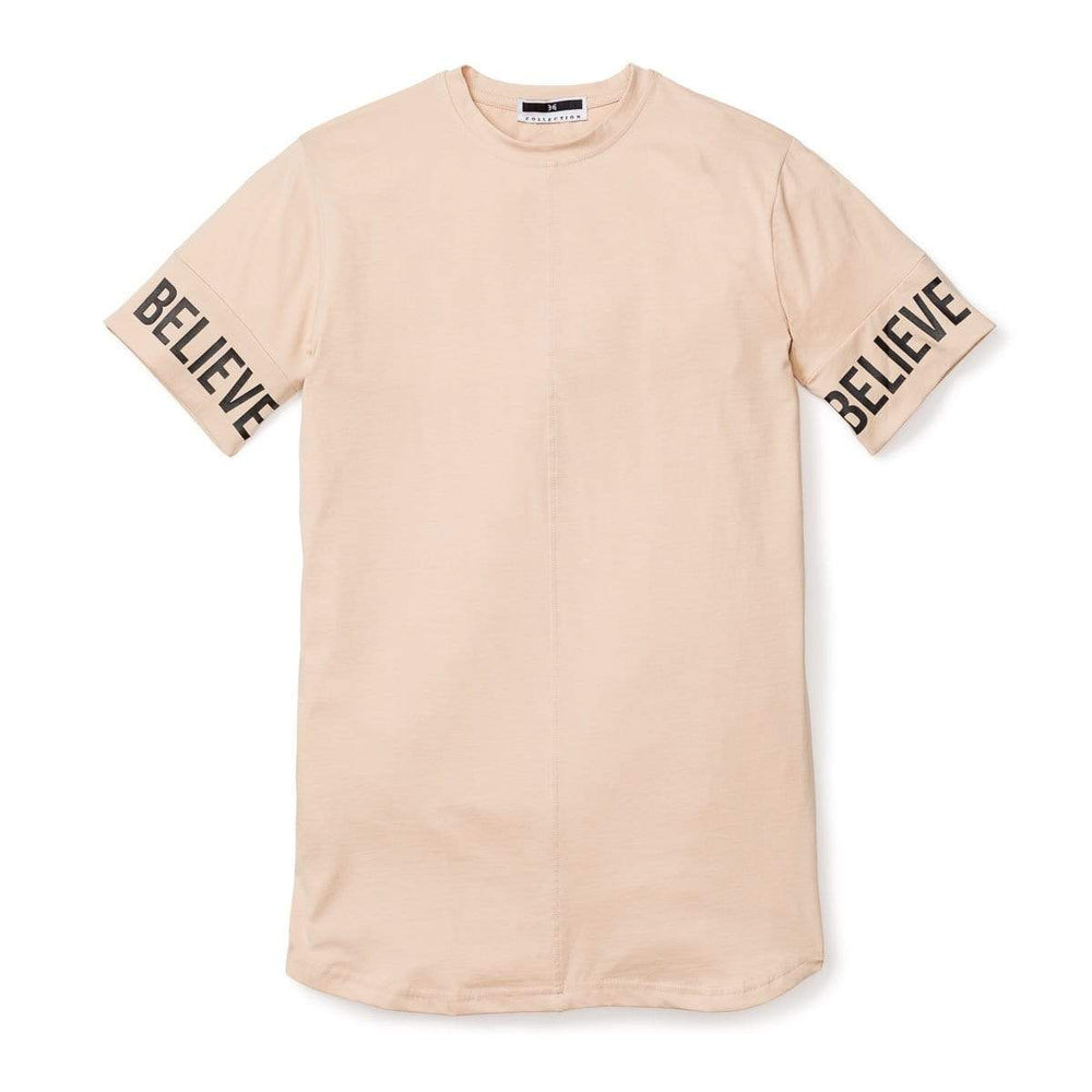 316collection Apparel 3:16 - Believe Sleeve Tee - Nude