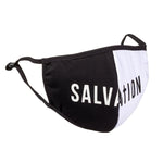 Salvation Split Mask (Black & White)
