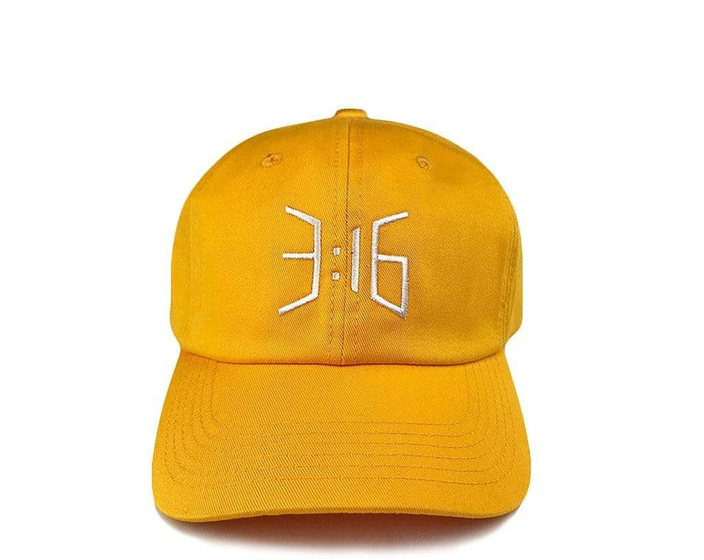 3:16 Dad Cap Gold
