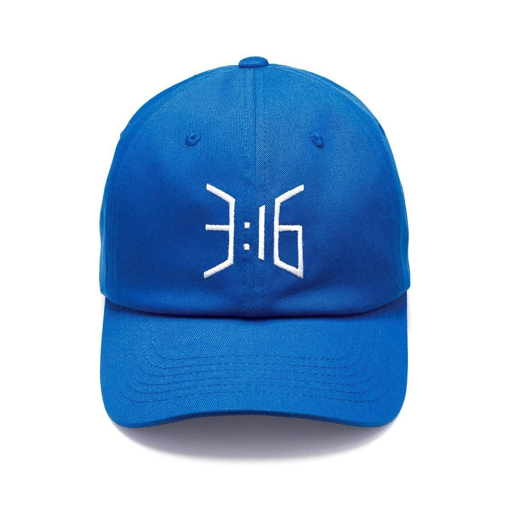 3:16 Dad Cap Royal Blue