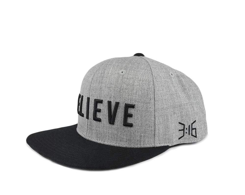 316collection Hat BELIEVE Snapback Hat
