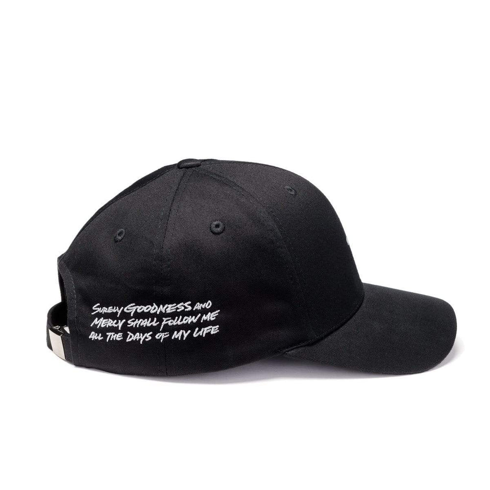 316collection Hat Psalm 23 - Premium Baseball Cap - Black