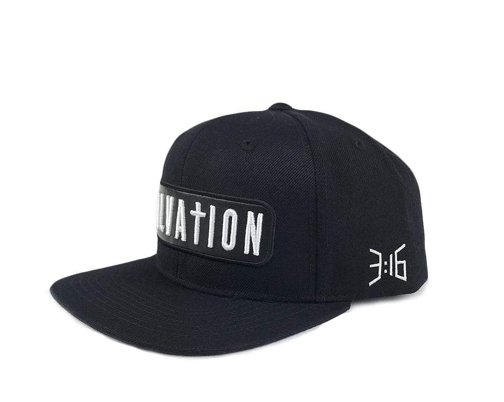 316collection Hat Salvation - Black Snapback