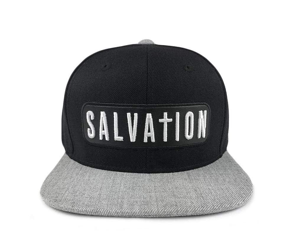Salvation - Heather Grey/Black Snapback