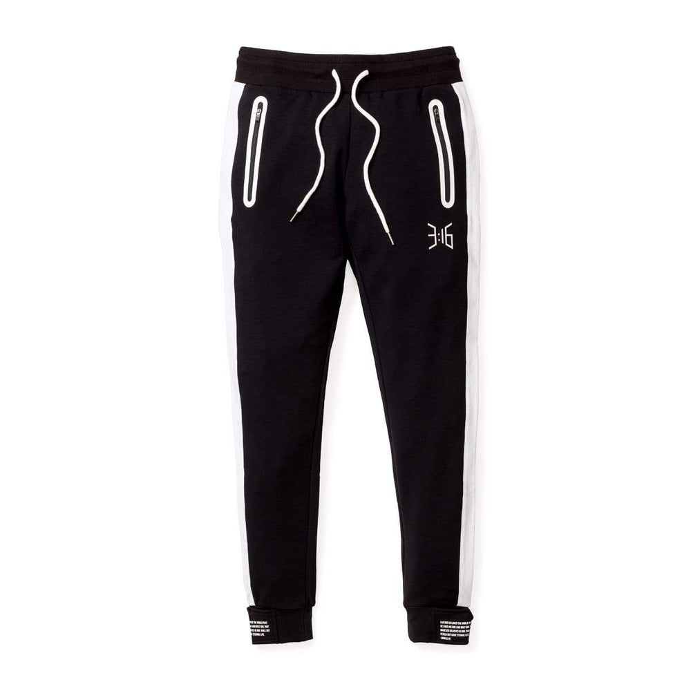 3:16 Salvation Cuff Jogger- Black