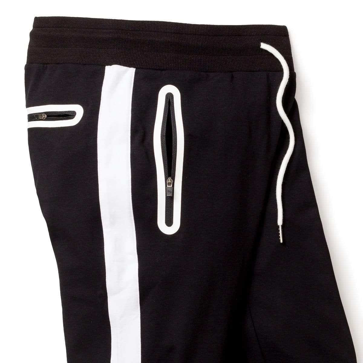 **NEW 2019 JUST ARRIVED**  ALL Sizes Preston Black Jogger Shorts