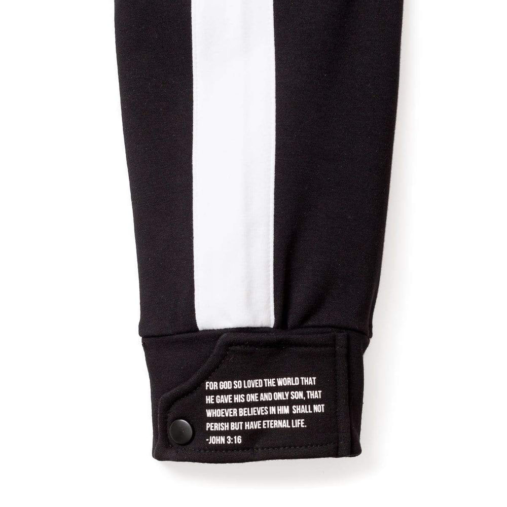 316collection Joggers 3:16 Salvation Cuff Jogger- Black