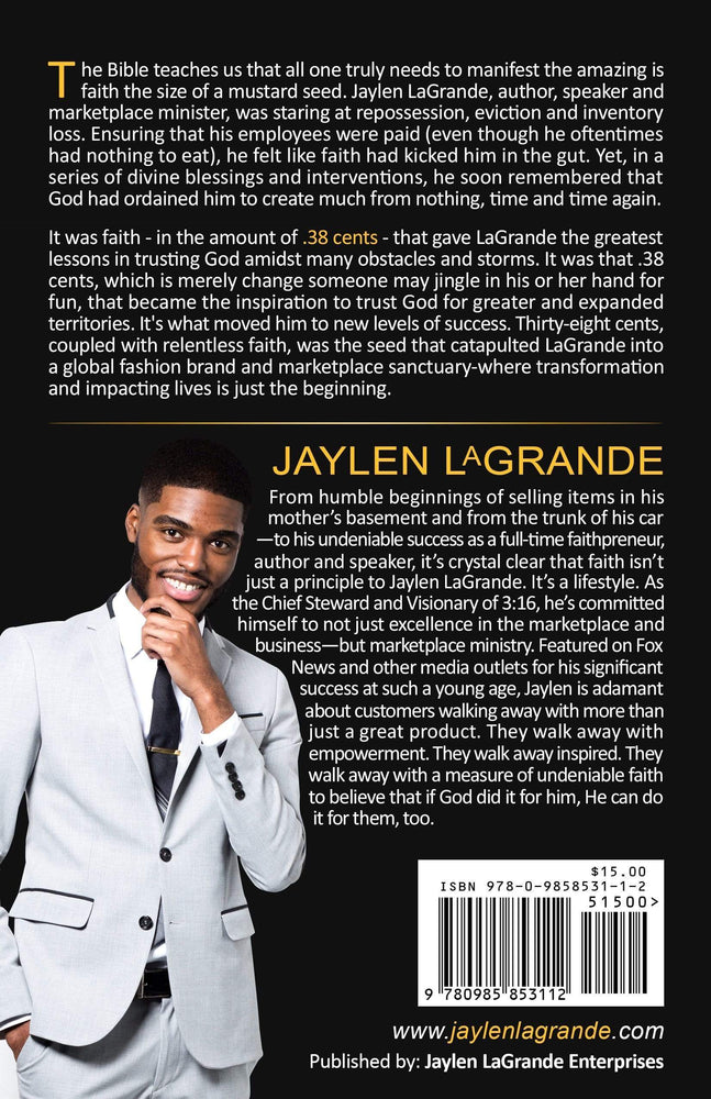 Jaylen LaGrande Enterprises Impulse - Books 38 CENTS by Jaylen LaGrande